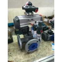 Quality 0-180 degree pneumatic rotary actuator autocontrol valves rack and pinion type for sale