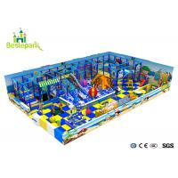 Customized Indoor Soft Playground Anti - Static 2CM Thickness With Protective for sale