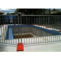 Quality Different Colors Temporary Pool Fencing For Above Ground Pools Easy Install for sale