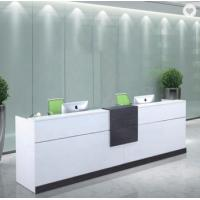 Quality L Shaped Checkout Counter Modern Office Furniture for sale