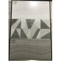 Buy cheap Ceramic Glazed Bathroom Indoor Wall Tiles 3D Printing 30 X60cm Design from wholesalers