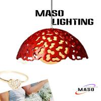 Buy cheap Indoor Lighting Accessory Peanut Print Resin Pendant Lamp Fittings 39*20cm for Bar from Wholesalers