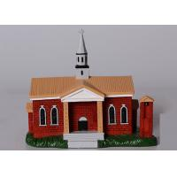 China Poly Resin Decoration Crafts / Simulation Building Model Custom Service Available on sale