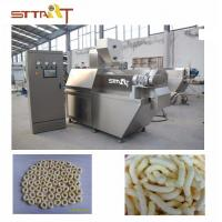 Quality High Performance SS Twin Screw Food Extruder Machine Siemens PLC Controlled for sale