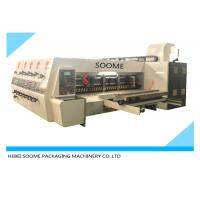 Quality Lead Edge Feeder Print And Die Cut Machine Automatically For Making Carton Box for sale