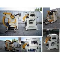 Buy cheap Industrial NC Servo Decoiler Straightener Feeder for 0.5 - 4.5mm Thickness All Metal Coil from Wholesalers