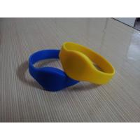 Buy cheap Silicone rfid wrist band from wholesalers