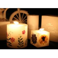Quality Teaching Specimens Pressed Flower Gifts Round Shape For Wedding Decoration for sale