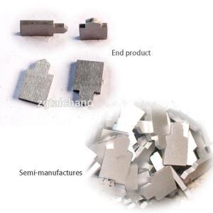 China Steel Cutting Anvil Custom Carbide Tooling Polishing / Blank Surface Treatment on sale
