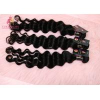 Quality 10A Grade Virgin India Hair Cuticle Aligned Loose Wave Bundles  150% Density for sale
