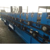 0.3-0.8mm Double Layer Roll Forming Machine for Wave Roof Panel Pre - Cutting