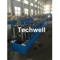 Quality Galvanized Steel Metal Rack Box Beam Roll Forming Machine With High Speed 12-15m/min For Rack Box Beam for sale