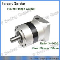 China 60mm planetary gearbox two stage gear ratio for nema 23 stepper motor or servo ratio 20:1 on sale