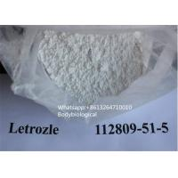 China CAS 112809-51-5 Anti Estrogen Steroids 98% Purity Letrazole For Breast Cancer on sale