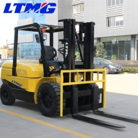 China forklift machine 4.5 ton forklift truck with Mitsubishi engine and side shift on sale