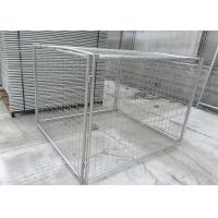Quality Large Temporary Fence Panel Industrial Waste Bins Cage 1500mm X 2000mm X 2000mm for sale
