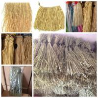Quality Luau Hawaiian Party 9' Real Raffia Grass Table Skirt for sale