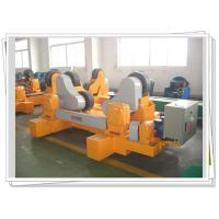 Quality PU Wheel Self Aligned Weld Rotator With Motorized Bogie For Vessel Rotary for sale