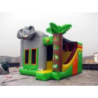 China Commercial Grade Indoor Inflatable Bounce House Hand Painting Available on sale