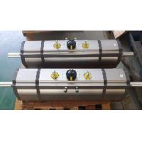 Quality three position 180 degree rack and pinion  pneumatic rotation actuators for sale