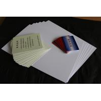China Meiqing brand from China for cards making supplier of the pvc plastic sheet on sale