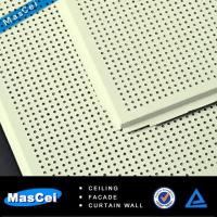 China Acoustic Ceiling Tile with Perforated Metal Strips on sale