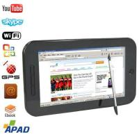 Buy cheap Apad GPS Tablet Laptop Windows CE MID Samsung CPU 7 Inch from wholesalers