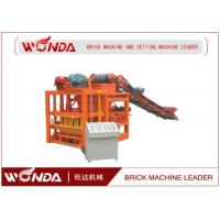 Quality Semi Automatic Hydraulic Fly Ash Brick Making Machine Hollow Paving Slab Cinder Block Maker for sale