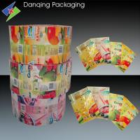 Quality Plastic Printed Packaging Film, PVC Shrink Sleeves Film For Bottle Lable for sale