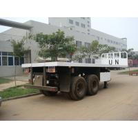 Quality 20 Feet  Flat Bed Semi-Trailer for sale