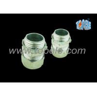 """Buy cheap 3/4"""" Zinc / Steel Emt Pipe Fittings Compression EMT Connector ISO Standard from wholesalers"""