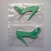 Quality Cute Hanging Paper Air Freshener High Heeled Shoes Shape Green Color for sale