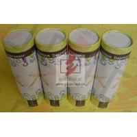 Quality Food Grade Cylinder Cardboard Box / Round Tube Packaging For Food for sale