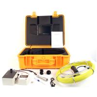China Recording CCTV Pipe Inspection Camera with 20m Push Cable on sale