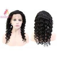 Quality 10A Grade Virgin Full Swiss Lace Human Wigs for sale