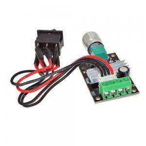 Buy cheap PWM DC Motor Speed Controller Voltage Regulator Module 6V 12V 24V 28V 3A 80W Reversible Pulse Width from wholesalers