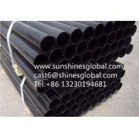 China CISPI301 Hubless Cast Iron Waste Pipes/ ASTM A74 No Hub Cast Iron Soil Pipes on sale