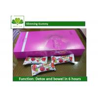 Buy Healthiest Weight Loss Protein Bars Slimming Gummy For Detox / Cleanse Colon at wholesale prices