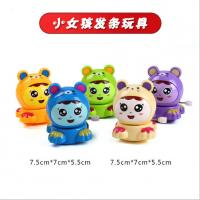 Quality Fashion Plastic Wind Up Toys 7.5cm Tall For Cute Little Girl EN71 Approved for sale