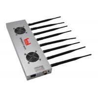 China Wi-Fi 2G 3G 4G Cell Phone Signal Jammer 8 Antennas For Car / Bus on sale