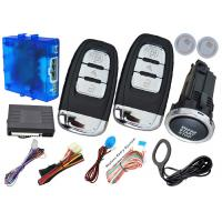 Quality Invisible Anti Theft Smart Car Security Alarm System Automatic Car Starter Kits for sale