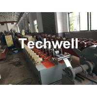 Quality Polyurethane Foam-Filled Rolling Shutter Roll Forming Machine For Making Door & Window Slats for sale