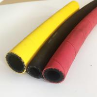 Quality Industrial Hot Water Hose , Steam Flex Hose Yellow Color Abrasion Resistant for sale