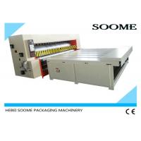 Quality Economical Type Corrugated Packaging Machinery , Semi Auto Die Cutting Machine Chain Rotary Roller for sale