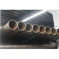 Quality Structure Welded Round Pipes, ERW Steel Pipe, Piling / Fence Pipes 60.3 mm - 273mm OD for sale