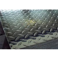 Quality ASTM A786 Checkered Plate , 5 Bar Aluminum Tread Plate 1050 1060 1100 3003 3105 5052 for sale