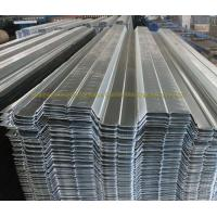 Quality Prefabricated Galvanized Firm Floor Steel Decking Corrugated Steel Floor Panels for sale