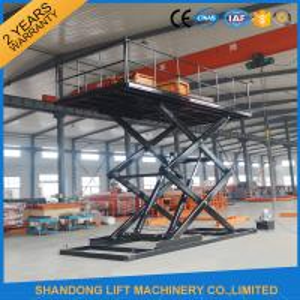 China CE 3T 4.8M Hydraulic Scissor Car Lift For Parking Scissor Type Basement Car Lift on sale