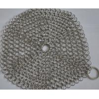 Buy cheap 304 Stainless Steel Chainmail Scrubber Kitchen Cast Iron Hardware Cleaner 7 * 7 from wholesalers