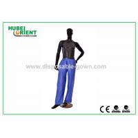 Quality Anti Dust Breathable Long Disposable Pants PP Nonwoven for Hotels for sale
